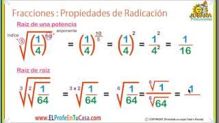 Descargar Mp3 De Potencias Y Raices De Fracciones Gratis Buentemaorg