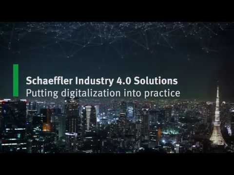 Schaeffler Industry 4.0 Solutions Putting digitalization into practice