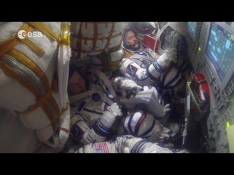 Soyuz Undocking, Reentry and Landing Explained