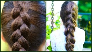 How To DUTCH BRAID for Beginners ★ DIY Step by Step Tutorial ★ Difference between Dutch & French