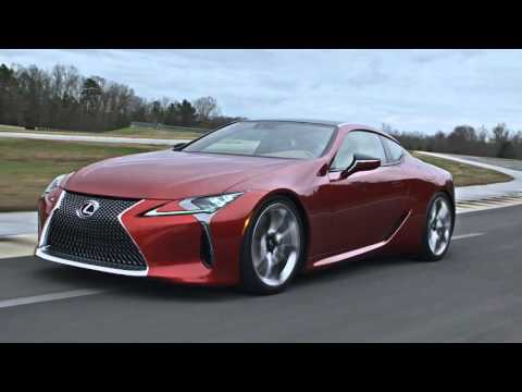 Lexus LC500 Coupe On the Road