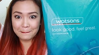 WATSONS HAUL! Makeup Galore!
