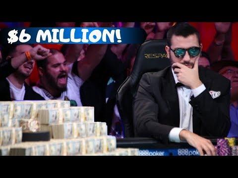 2019 World Series of Poker Runner-Up:  Dario Sammartino
