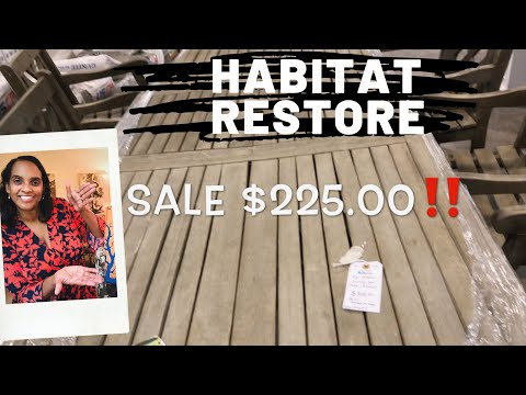 Habitat for Humanity Restore Come See 👀 with ME!
