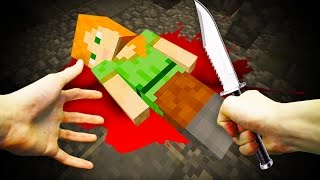 REALISTIC MINECRAFT - STEVE KILLS ALEX!
