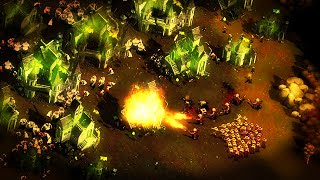 Giant, Zombie Infected VILLA OF TERROR!   They Are Billions Campaign Mode Lets Play Ep 11