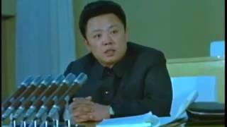 北朝鮮「金正日1974年、33歳頃の肉声、長め」KCTV2013/05/01日本語字幕付き