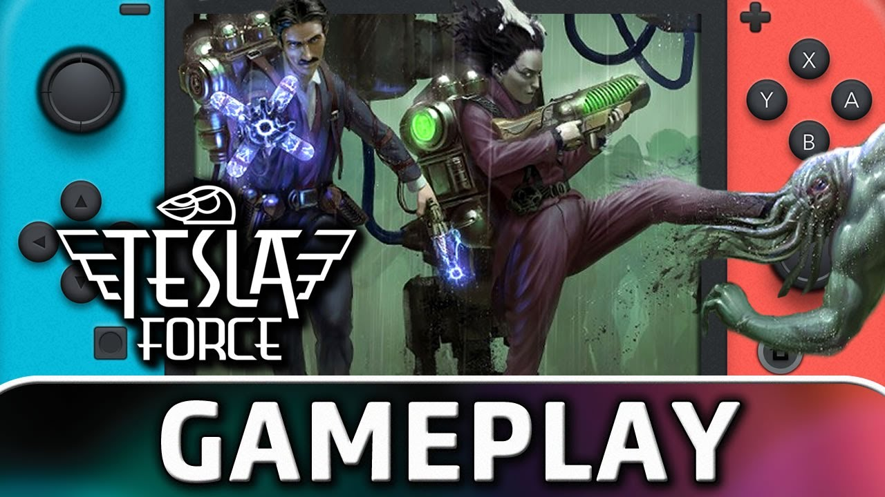 Tesla Force   Nintendo Switch Gameplay