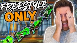 So I Joined A FREESTYLE ONLY Tournament But I Can't Freestyle.