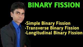 Binary Fission   Simple binary fission   Transverse binary fission   Longitudinal binary fission  