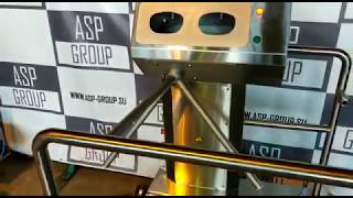 видео товара Станция гигиены рук и обуви (санпропускник) ASP -HL-03(эконом)