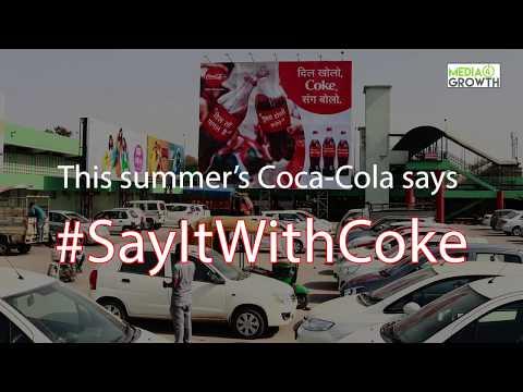 Coca- Cola's immersive OOH campaign