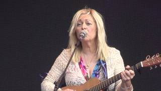 Sally Barker's 'Dear Darlin' opening for Sir Tom Jones at his gig at Northampton CC