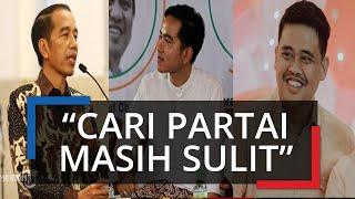 Jokowi Beri Tanggapan soal Dinasti Politik Gibran dan Bobby:
