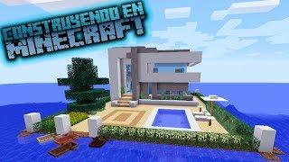 Como hacer una casa moderna 2 123vid for Casa moderna hlandia