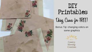 Easy DIY Printables