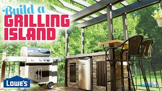 How To Build A Grilling Island (w/ Third Coast Craftsman)