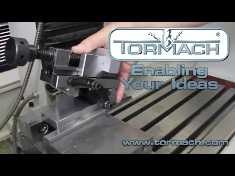 The basic setup of the Tormach sine vise.