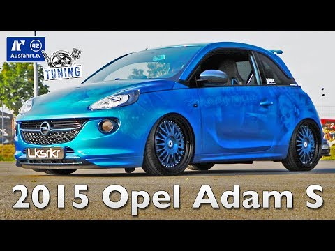 2015 Opel Adam S inkl. CarPorn und Sound-Check - Ausfahrt.tv Tuning