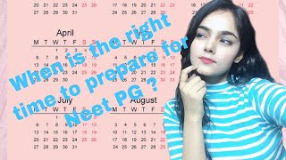 When is the right time to start your preparation for NEET PG 2021|Real talk with Dr Kanika Episode 3