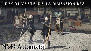 NieR: Automata : Explorez le futur lointain de la Terre en 27 minutes de gameplay continu
