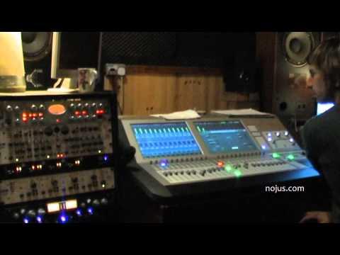 NOJUS Band new album recording vlog #1 from Camelot Studios Dublin