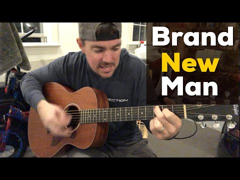 Brand New Man | Brooks & Dunn | Beginner Guitar Lesson