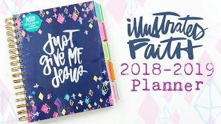 Illustrated Faith 2018 2019 Planner Review