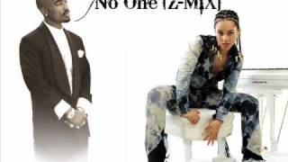 2Pac Ft.Alicia Keys - No One [Z-MiX]