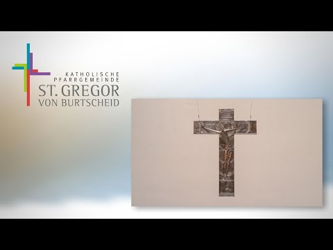Restauriertes Mataré-Kreuz in St. Gregorius