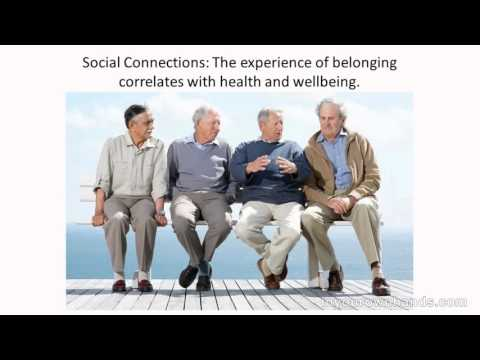 Video: Social Connections Are Essential for Health