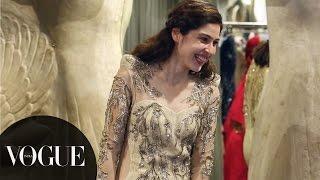 Scherezade Shroff's wedding ensemble is an absolute dream