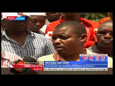 Mbiu ya KTN: Taarifa kamili - Mchujo wa ODM - 23/04/2017