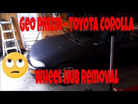 94-02 Toyota Corolla 93-02 Geo Prizm wheel bearing wheel hub assembly