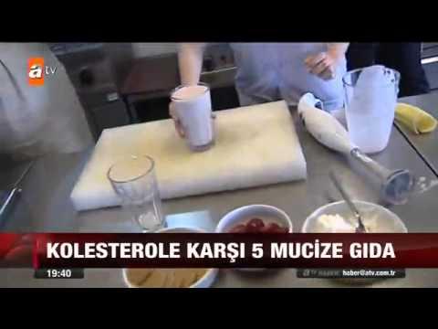 Kolesterolü Düşüren 5 Mucize Gıda