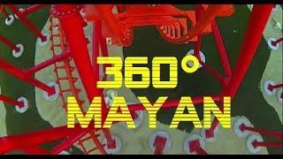 [ 360° EXTREME ] Roller Coaster MAYAN EnergyLandia