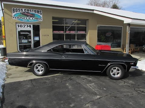 Video of Classic 1966 Chevrolet Impala SS located in Goodrich Michigan - $34,900.00 Offered by Ross Custom Muscle Cars LLC - PJ1F