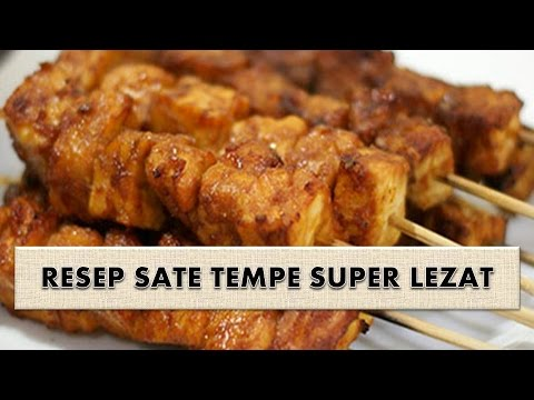 Video RESEP SATE TEMPE SUPER LEZAT
