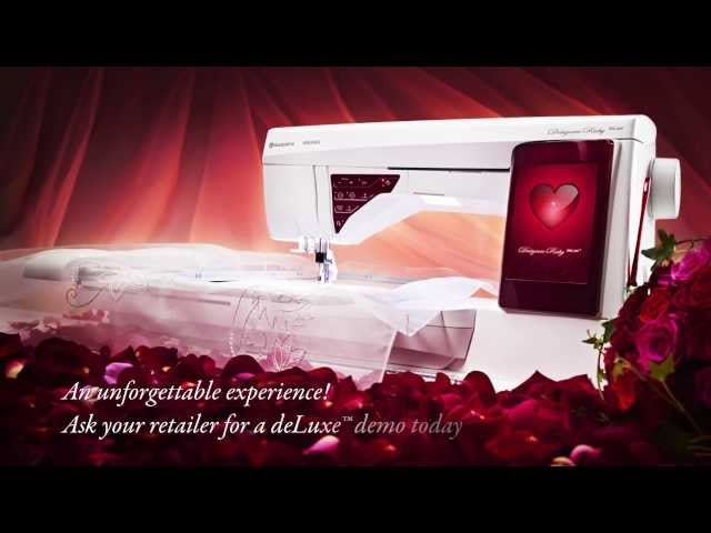 Husqvarna Viking Designer Ruby DeLuxe Sewing And Embroidery Machine Extraordinary Husqvarna Designer Ruby Sewing Machine