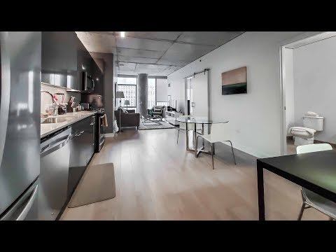 River North furnished 1-bedroom #1814 near the Riverwalk and theMART