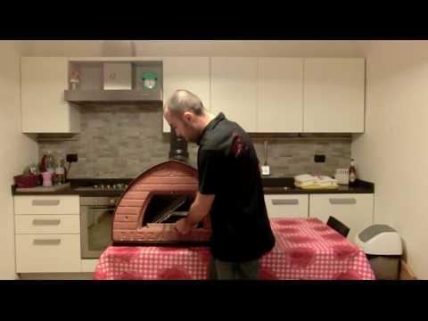 Come fare il Barbecue senza fare fumo nel forno a legna, set Barbecue BBQ inclinato per arrosto