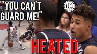 Julian Newman 32 POINT GAME GETS HEATED! 6 THREES In A BLOWOUT WIN!!