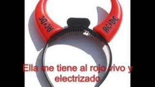 ACDC this house is on fire subtitulado