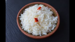 HOW TO PREPARE THE PERFECT COCONUT RICE (BASMATI RICE)