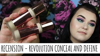 Recension på Conceal and Define från Revolution - 120 KR!?!?!?!?