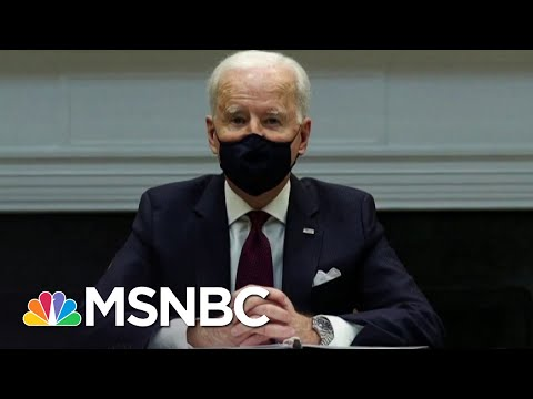 Biden's Covid Aid Bill Seems To Survive All-Day Senate Fight | The 11th Hour | MSNBC