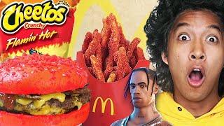 McDonalds New Flaming Hot Travis Scott Meal La flame