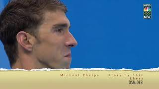 Micheal phelps success comeback story in Hindi by shiv khera