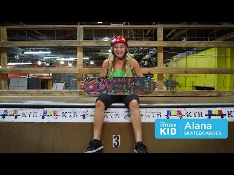 Alana, Bringing Girl Power to the Skate Park | Citizen Kid by Disney