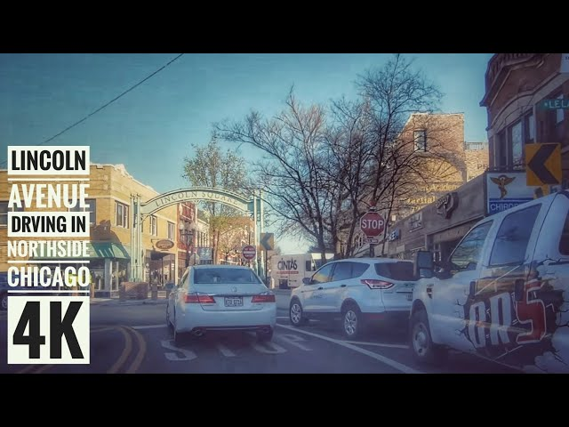 Driving Through Northside Chicago 4k Streets Of The Americas